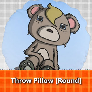 Throw Pillow [Round]