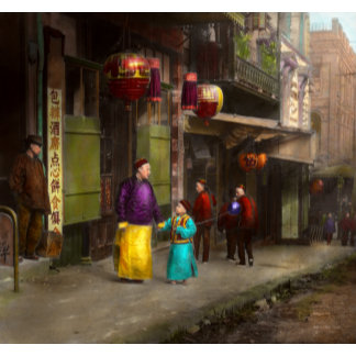 City - Chinatown - Visiting the commomers 1896-06