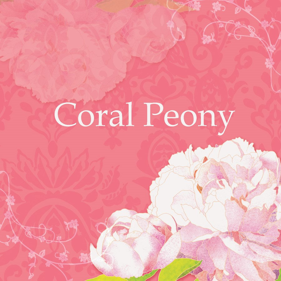♥ Coral Peony