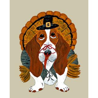 Basset Hound Thanksgiving Turkey