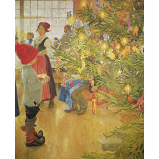 C Larsson Holiday Art