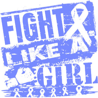 Stomach Cancer BurnOut Fight Like a Girl