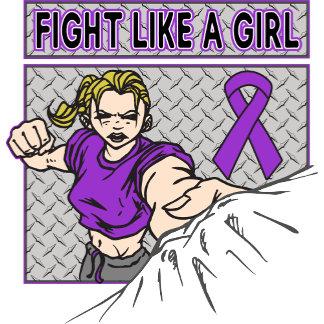 Epilepsy Fight Like A Girl Punch