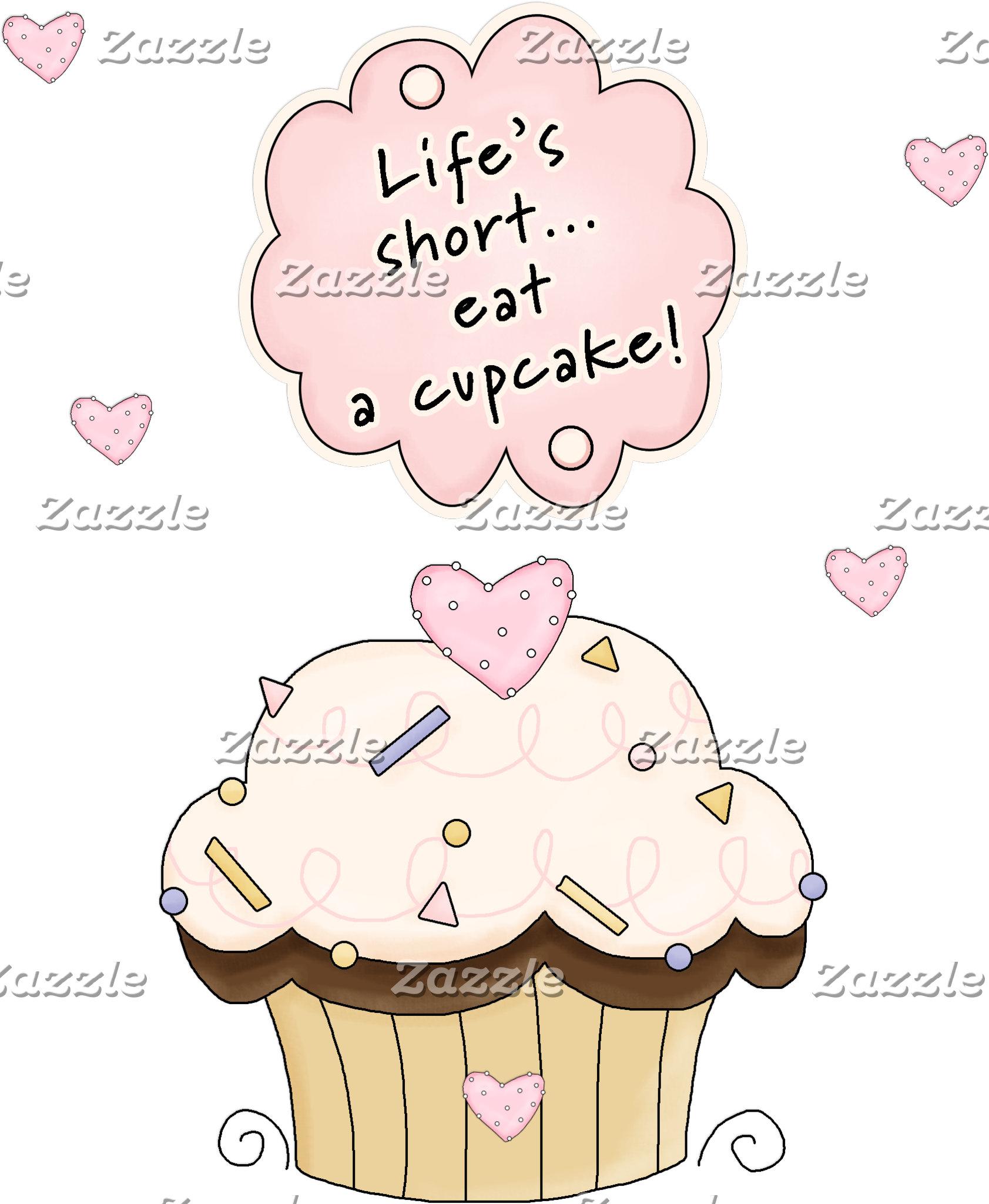 Cute Eat A Cupcake