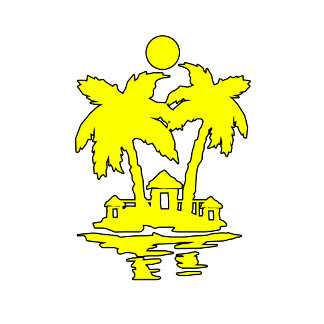 beach island houses yellow outline invert.png