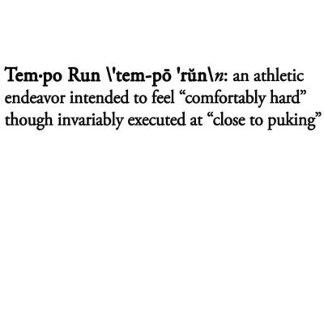Tempo Run Definition