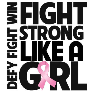 Breast Cancer Fight Strong Like a Girl