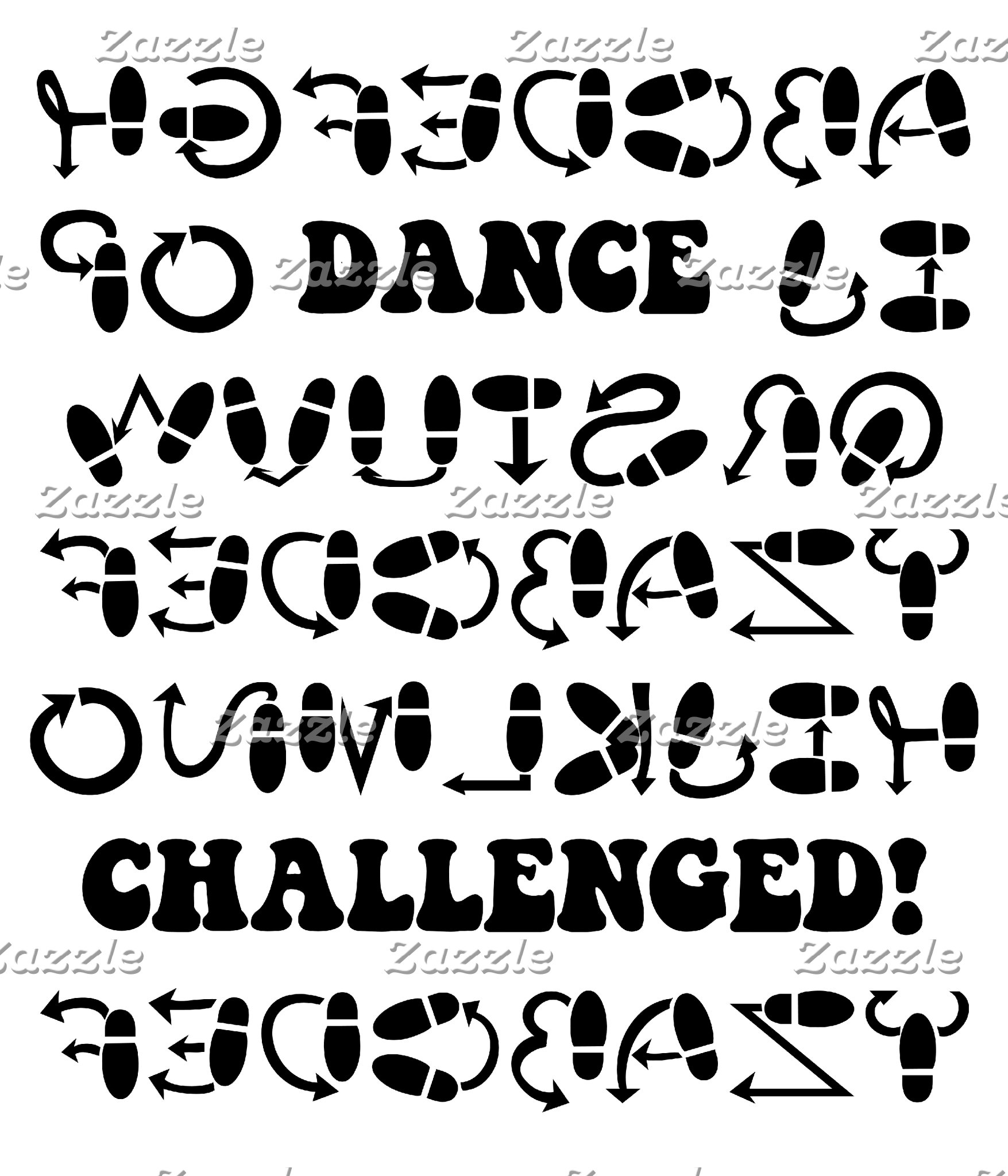 Dance challenged!