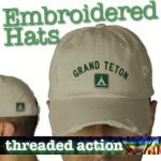 Embroidered National Park Hats