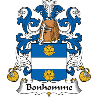 Bonhomme Family Crest