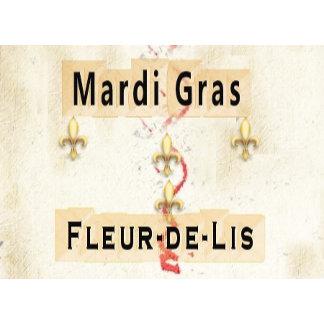 Fleur-de-Lis/Parchments