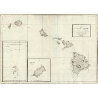 Chart of the Sandwich Islands