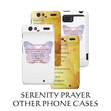 Serenity Prayer Other Phone Cases