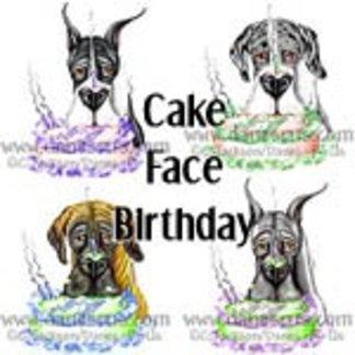 Cake Face Birthday