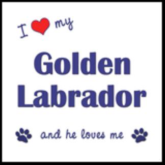 I Love My Golden Labrador (Male Dog)