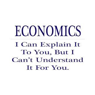 Economics  .. Explain Not Understand