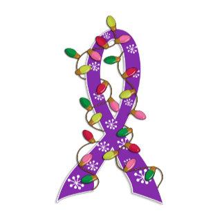 Fibromyalgia Christmas Lights Ribbon