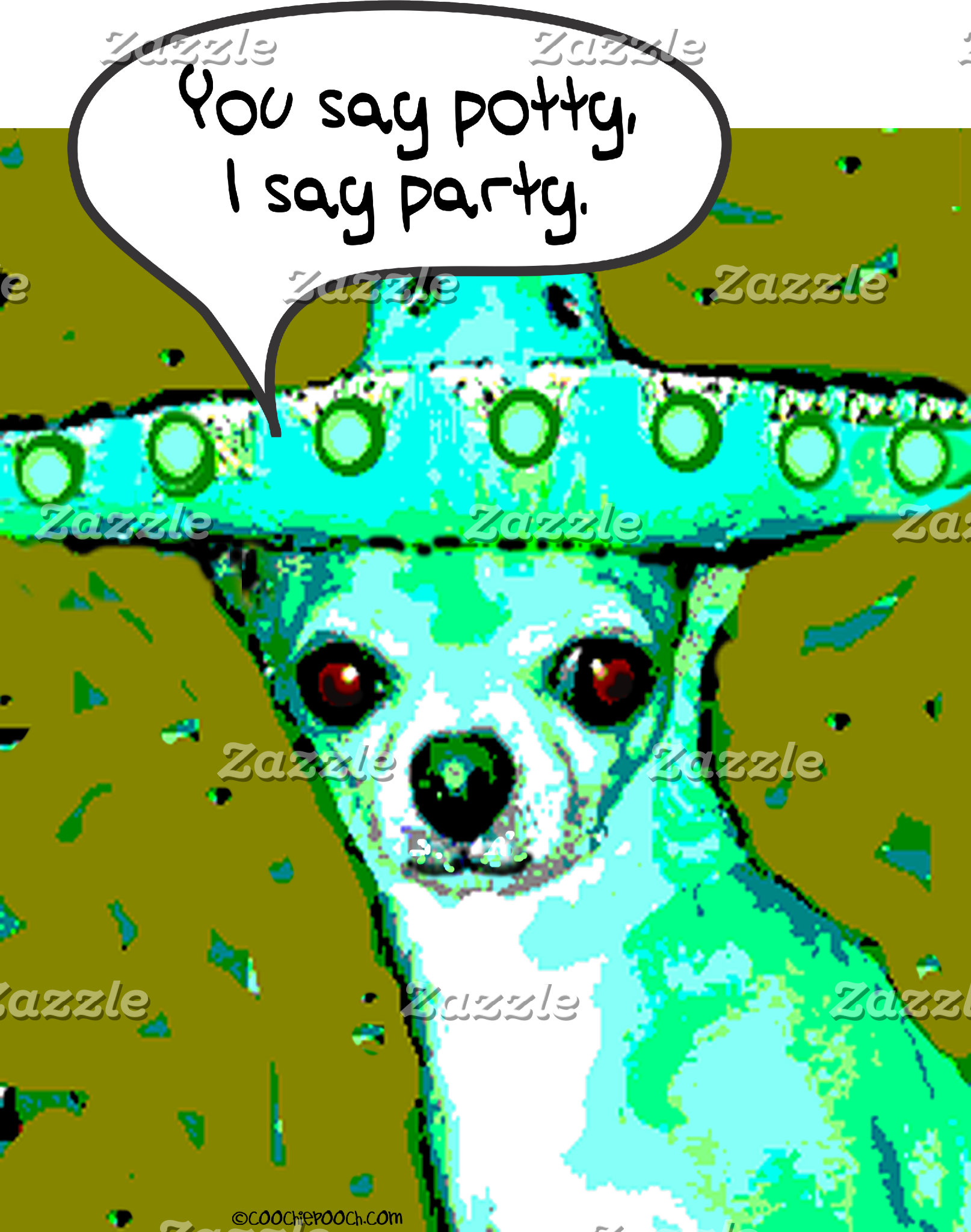 Chihuahua - You say Potty, I say Party