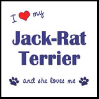 I Love My Jack-Rat Terrier (Female Dog)