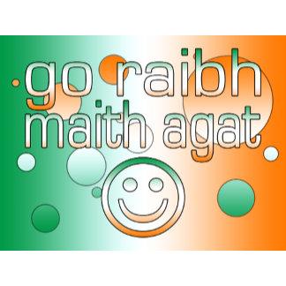 Irish Gaelic Gifts Thank You / Go Raibh Maith Agat