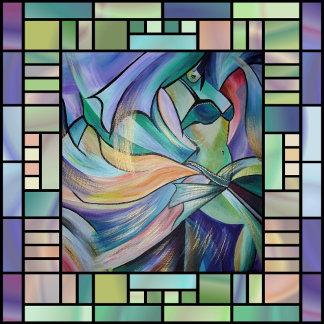 Art Nouveau Belly Dance (Square)
