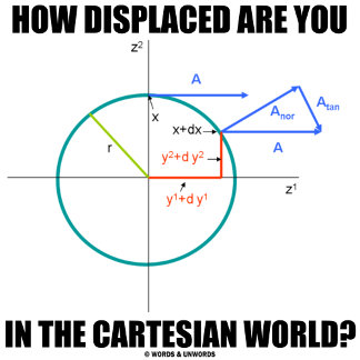 How Displaced Are You In The Cartesian World?