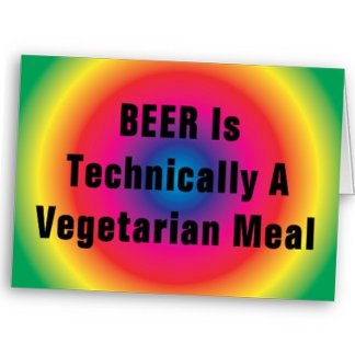 BEER Is Technically A Vegetarian Meal