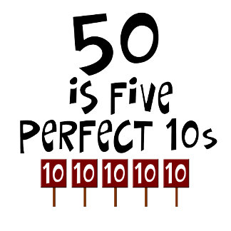 50th birthday Perfect