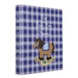 10.16 western_rockin_horse_baby_book_album_binder-
