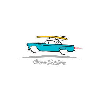 1955 Ford Thunderbird Gone Surfing