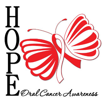 Hope Butterfly Oral Cancer