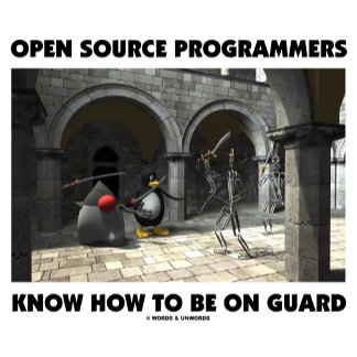 Open Source Programmers Know How To Be On Guard