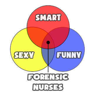 Venn Diagram .. Forensic Nurses