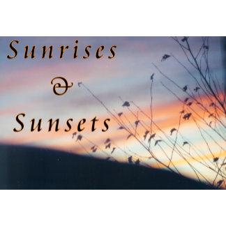 Sunrises/sunsets