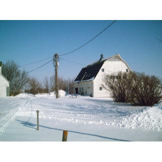 Iowa Farm in the Winter