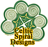Celtic Spiral Art Design T-Shirts and Gifts