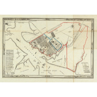 A Plan Of The Property Of The Hampton Normal