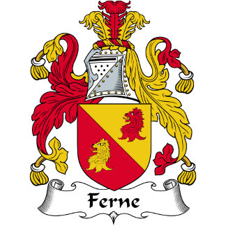 Ferne Family Crest / Coat of Arms