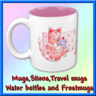 Mugs, Stiens, Travel Mugs,Water Bottles Frostmugs