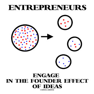 Entrepreneurs Engage In Founder Effect Of Ideas