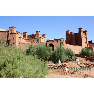 Morocco - Kasbah in Ait Ben Haddou