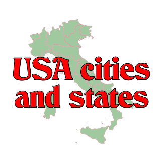 USA City and States