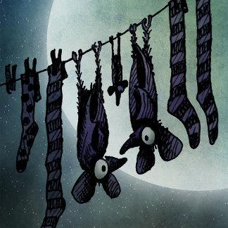 Funny Moon Bats
