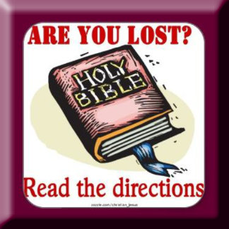 ARE YOU LOST-READ THE DIRECTIONS