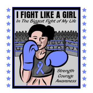 Stomach Cancer I Fight Like A Girl Battle