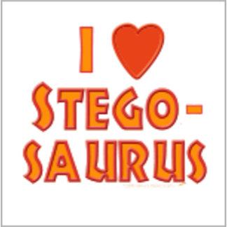 I Love Stegosaurus