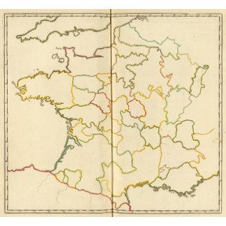 Provinces, France Outline