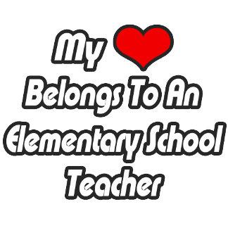 My Heart Belongs To An Elementary School Teacher