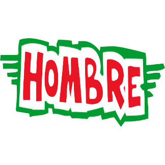 Hombre T-Shirts Gifts Cards