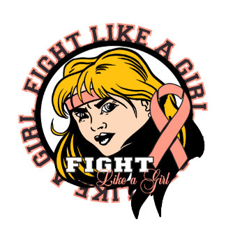 Endometrial Cancer Fight Like A Girl Attitude